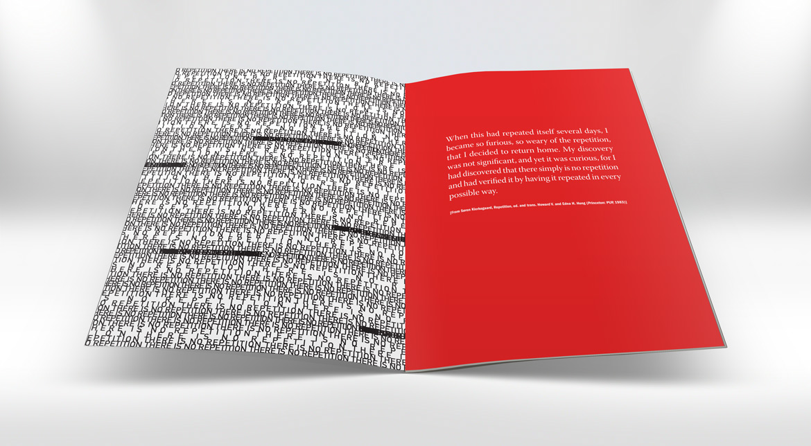 "spread from ""there is no repetition"""
