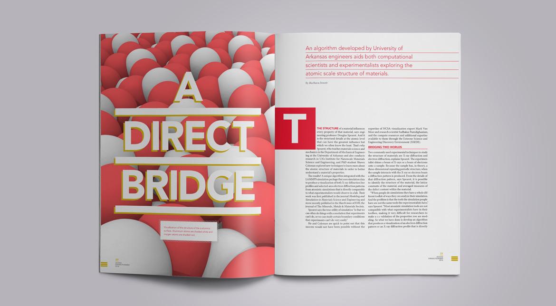 Access magazine spread