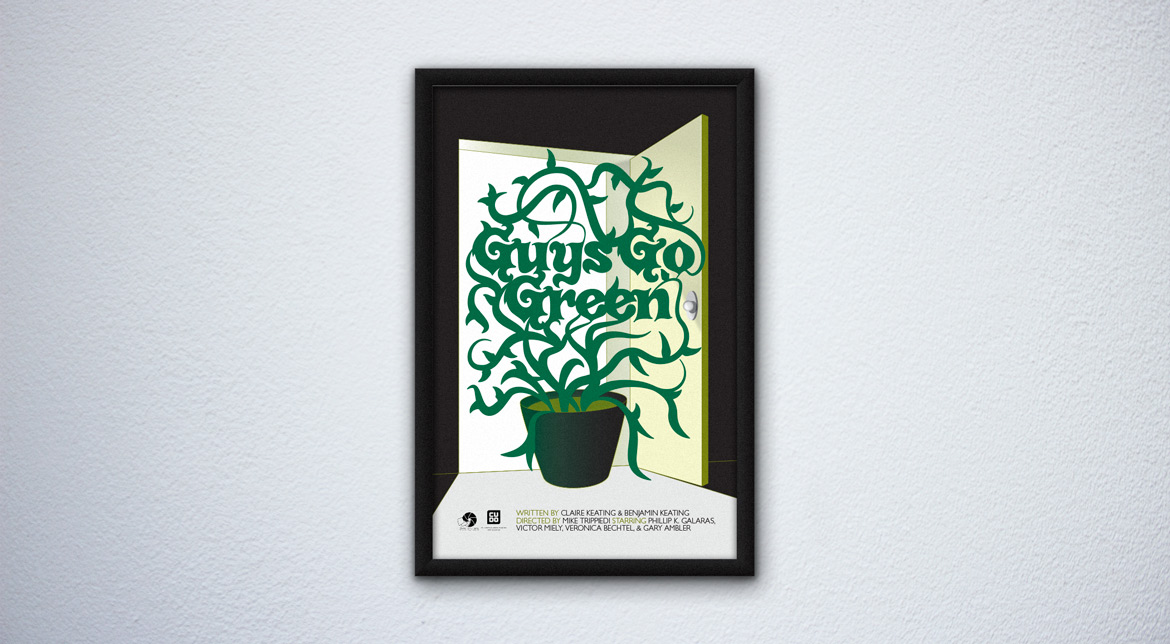 "Poster for ""Guys for Green"""